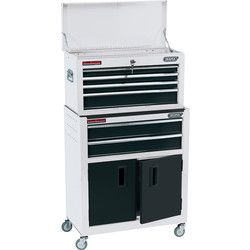 Draper Draper Combined Roller Cabinet and Tool Chest White - 29443 - from Toolstation