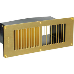 Floor Vent Lacquered Brass - 29480 - from Toolstation
