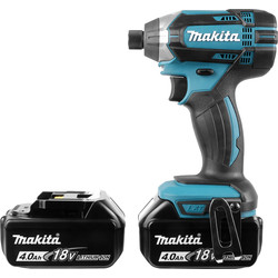 Makita Makita DTD152RMJ 18V Li-Ion LXT Cordless Impact Driver 2 x 4.0Ah - 29497 - from Toolstation