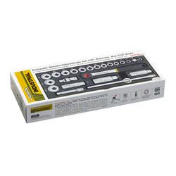 """Proxxon 23110 Premium Socket Set (3/8"""") Racket"""