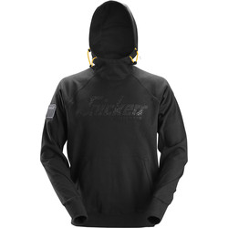 Snickers Workwear Snickers Logo Hoodie Small Black - 29591 - from Toolstation