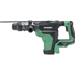 Hikoki Hikoki 36V MultiVolt Brushless Rotary SDS Max 40mm Hammer Drill Body Only - 29613 - from Toolstation
