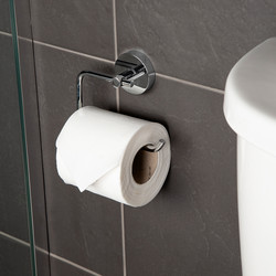 Croydex Pendle Flexi-Fix Toilet Roll Holder