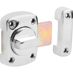 Thumbturn Lock 40mm Chrome - 29642 - from Toolstation