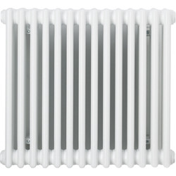 Arlberg Arlberg 2 Column Horizontal Radiator 600 x 670mm 2170Btu White - 29659 - from Toolstation