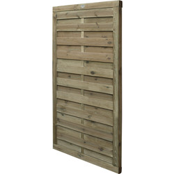 Forest Forest Garden Hit & Miss Horizontal Gate 180cm (h) x 90cm (w) x 4.5cm (d) - 29692 - from Toolstation