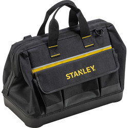 "Stanley Stanley 16"" Open Mouth Tool Bag  - 29716 - from Toolstation"