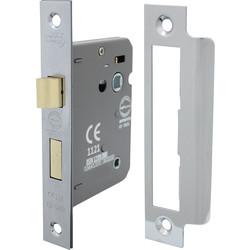 Bathroom Mortice Lock 75mm Nickel Plate - 29790 - from Toolstation