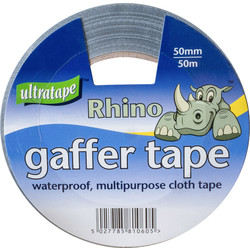Ultratape Heavy Duty Cloth Duct Tape Silver 50mm x 50m - 29812 - from Toolstation