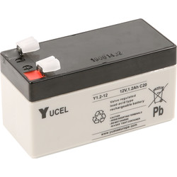 Sealed Lead Acid Battery 12V 1.2Ah 97 x 43 x 58mm - 29879 - from Toolstation
