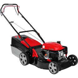AL-KO AL-KO Classic 123cc 46cm Petrol Lawnmower 4.66 SP-A Self Propelled - 29891 - from Toolstation