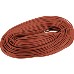 Unbranded PVC Cable Sleeving 100m 3mm Brown - 29947 - from Toolstation