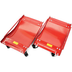 Hilka Hilka Wheel Dolly Set 400kg - 29973 - from Toolstation