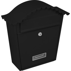 Sterling Classic Post Box Black - 29980 - from Toolstation