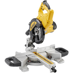 DeWalt DeWalt DWS774-GB 1400W 216mm Sliding Mitre Saw 240V - 29987 - from Toolstation