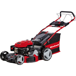 Einhell Einhell 173cc 53cm Self Propelled Petrol Lawnmower with Power X-Change Electric Start GE-PM 53 S HW E LI - 30040 - from Toolstation