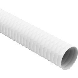 Verplas PVC Flexible Ducting Hose 100mm x 6m - 30076 - from Toolstation