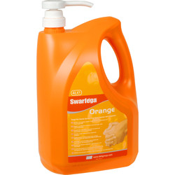 Swarfega Swarfega Orange Hand Cleanser Pump 4L - 30081 - from Toolstation