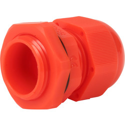 IMO Stag IMO Stag IP68 Cable Gland 20mm Red - 30098 - from Toolstation