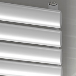 Ximax Ximax Bristol Single Horizontal Designer Radiator 584 x 1200mm 2694Btu White - 30154 - from Toolstation