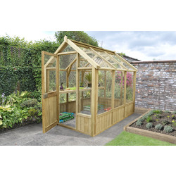Forest Forest Garden Vale Greenhouse 241cm (h) x 203cm (w) x 248cm (d) - 30231 - from Toolstation