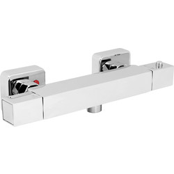 Deva Deva Durham Square Thermostatic Shower Valve  - 30256 - from Toolstation