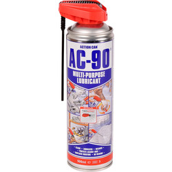 Action Can Action Can AC-90 Twinspray Lubricant 500ml - 30307 - from Toolstation