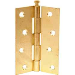 Loose Pin Hinge Brass 75mm - 30395 - from Toolstation