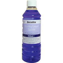 Barrettine Methylated Spirit 500ml - 30522 - from Toolstation