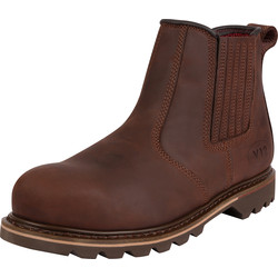 V12 Footwear V1231 Rawhide Brown Dealer Boot Size 10 - 30534 - from Toolstation