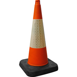 Melba Swintex Melba Swintex Thermoplastic Traffic Cone 750mm - 30588 - from Toolstation