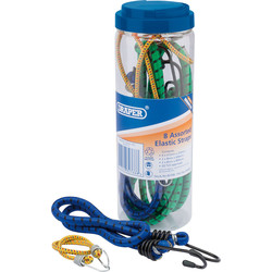 Draper Draper Assorted Bungee Set  - 30636 - from Toolstation