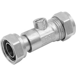 Made4Trade Made4Trade Service valve 15mm - 30684 - from Toolstation