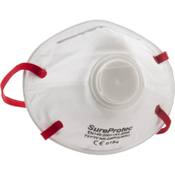 FFP3 Moulded Valved Face Mask  - 30704 - from Toolstation