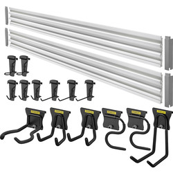 Stanley Stanley Track Wall System 20 Pc Starter Kit  - 30706 - from Toolstation