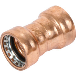 Conex Banninger Conex Cuprofit Straight Coupler 22mm - 30708 - from Toolstation