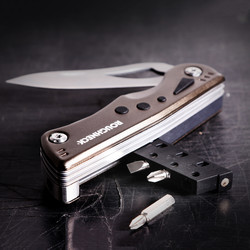 Roughneck 9 Function Multi Tool with LED Light