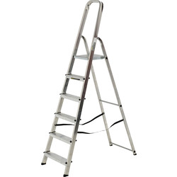 Youngman High Handrail Step Ladder 6 Tread SWH 2.97m