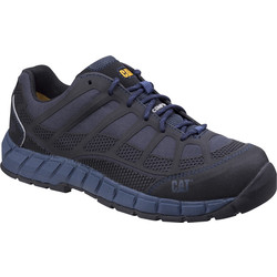 CAT Caterpillar Streamline Safety Trainers Blue Size 10 - 30838 - from Toolstation