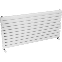Ximax Ximax Bristol Double Horizontal Designer Radiator 584 x 1200mm 3922Btu White - 30840 - from Toolstation