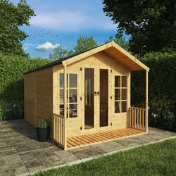 Mercia Mercia Premium Traditional Summerhouse 12' x 8' - 30845 - from Toolstation