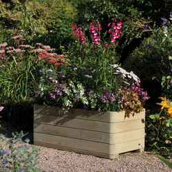 Rowlinson Rowlinson Marberry Rectangular Planter 39cm (h) x 100cm (w) x 50cm (d) - 30857 - from Toolstation