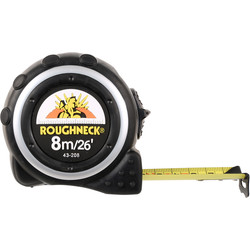 Roughneck Roughneck Pro Tape Measure 8m - 30863 - from Toolstation
