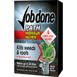 Job Done Job Done Path & Drive Weedkiller 6 Sachets - 30923 - from Toolstation