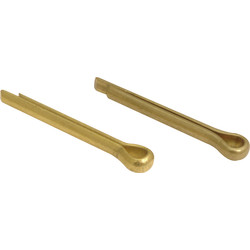 Cotter Pin Brass - Small - 30940 - from Toolstation