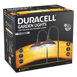 Duracell Stem LV LED Garden Pathway Light IP44