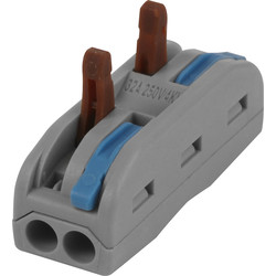 Spring In Line Spring Lever Connectors 2 Pole 32A - 30952 - from Toolstation
