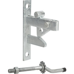 GateMate GATEMATE Self-Locking Gate Catch Galvanised - 30978 - from Toolstation