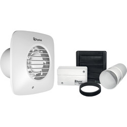 Xpelair Simply Silent Low Voltage Square Extractor Fan
