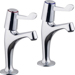 Ebb and Flo Ebb + Flo Contract Lever Pillar Kitchen Taps  - 31110 - from Toolstation